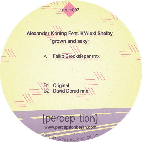 """A. Koning & K'Alexi/GROWN & SEXY 12"""""""