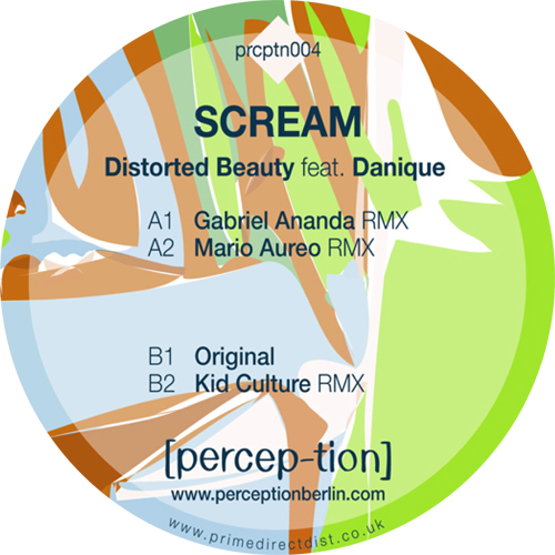 Distorted Beauty/SCREAM 12""