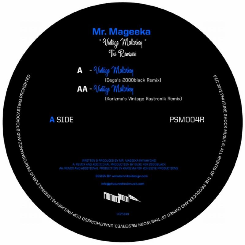 """Mr. Mageeka/VINTAGE MALARKEY REMIXES 12"""""""