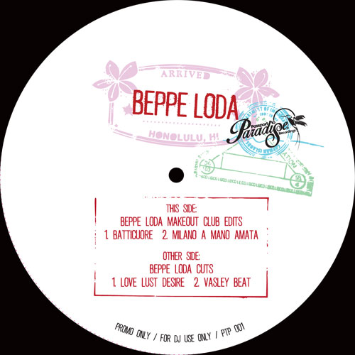 Beppe Loda/MAKEOUT CLUB EDITS 12""