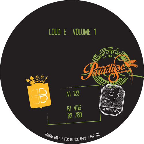 Loud E/PASSPORT TO PARADISE: VOL 1 12""
