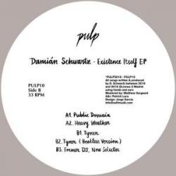 "Damian Schwartz/EXISTENCE ITSELF EP 12"""