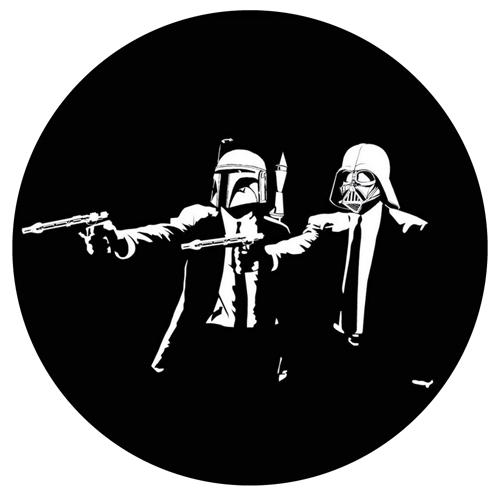 Pulp Star Wars/GLOW IN THE DARK SLIPMAT