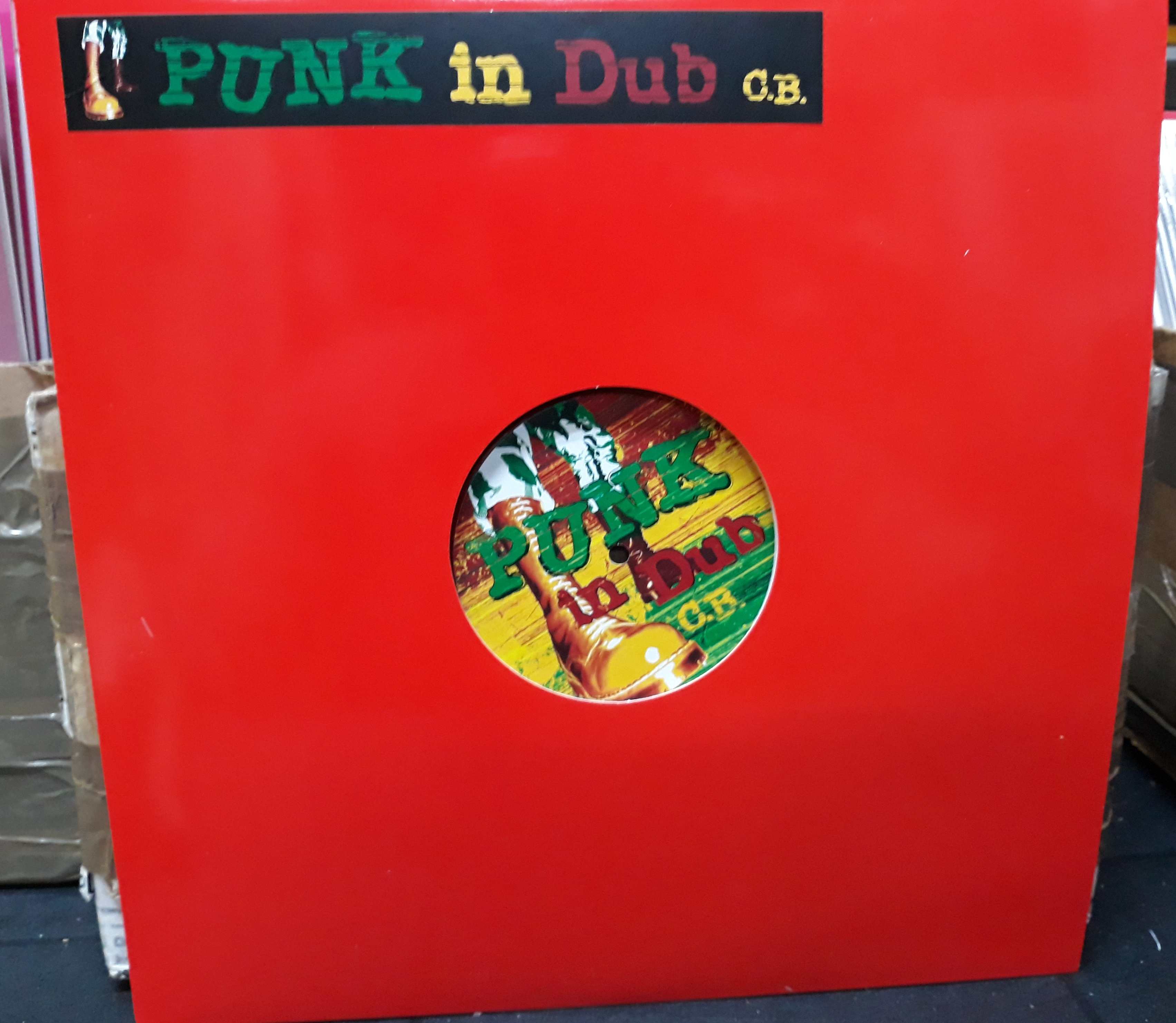 C.B./PUNK IN DUB EXTENDED (COLOR) LP