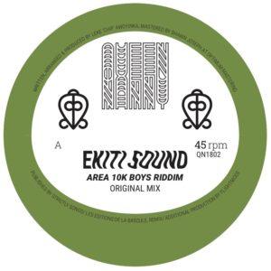 "Ekiti Sound/AREA 10K BOYS RIDDIM 12"""