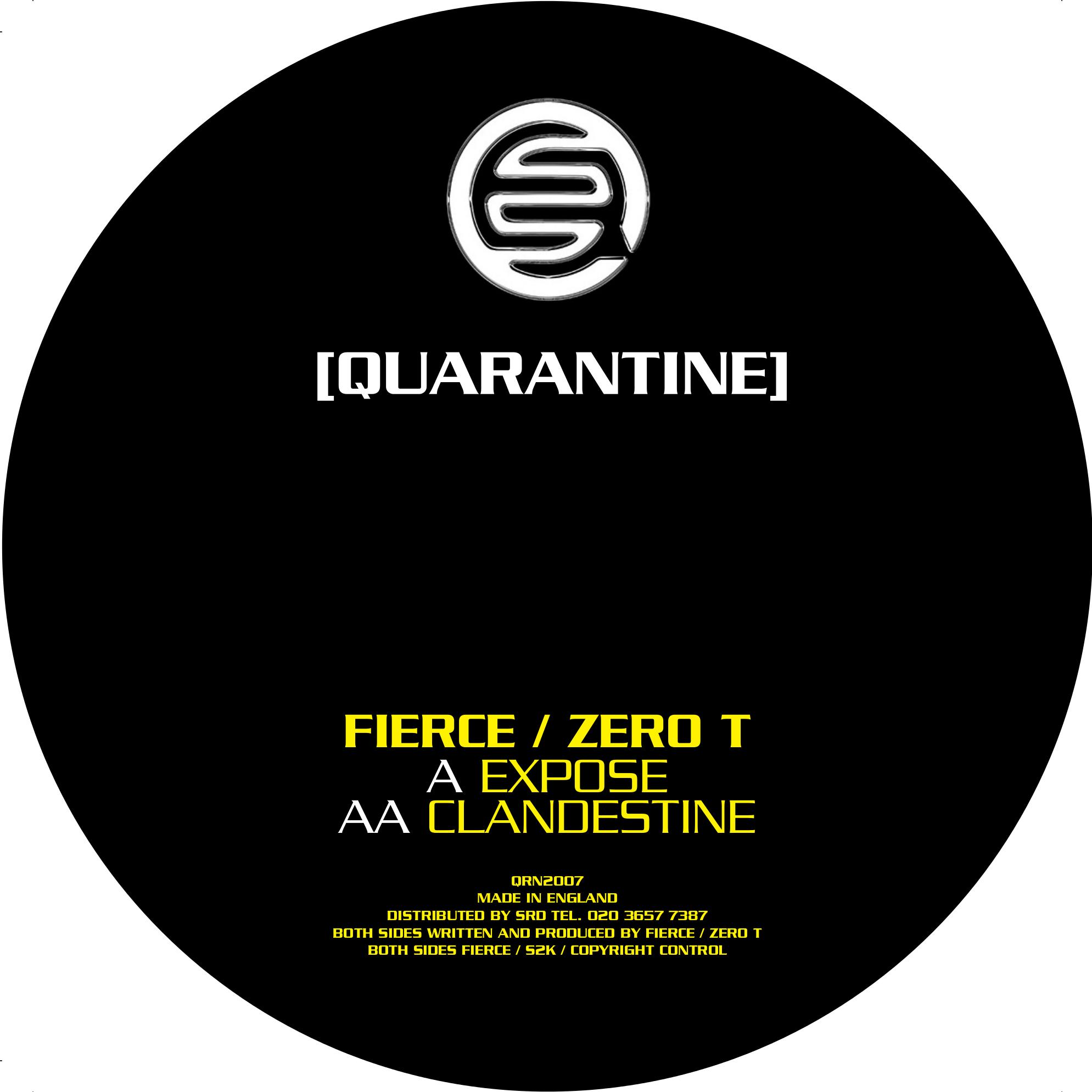 """Fierce & Zero T/EXPOSE 12"""""""