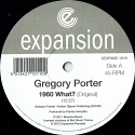 """Gregory Porter/1960 WHAT? (REPRESS) 12"""""""