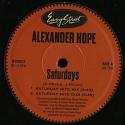 "Alexander Hope/SPLIT 12"""