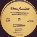 """Don Freeman/FRACTURE IN MY SOUL    12"""""""