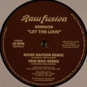 Bennson/LET THE LOVE (YAM WHO) 12""