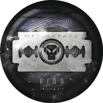 "Rido/TWISTED (VIP MIX) PIC DISC 12"""