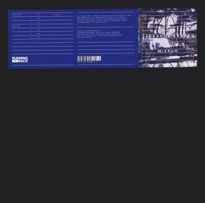 Suzanne Kraft/MISSUM (2020 REPRESS) LP