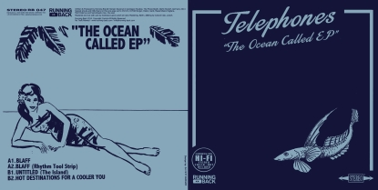 "Telephones/THE OCEAN CALLED EP 12"""