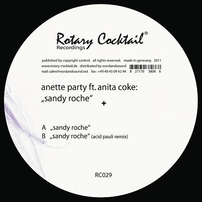 """Anette Party/SANDY ROCHE-ACID PAULI 12"""""""