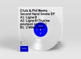 "D'Julz & Phil Weeks/2ND HAND SMOKE 12"""