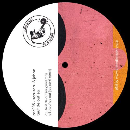 "Scruscru & Jehan/TEUF DE OUF EP 12"""