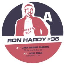 "Ron Hardy/RON HARDY EDITS #36 12"""