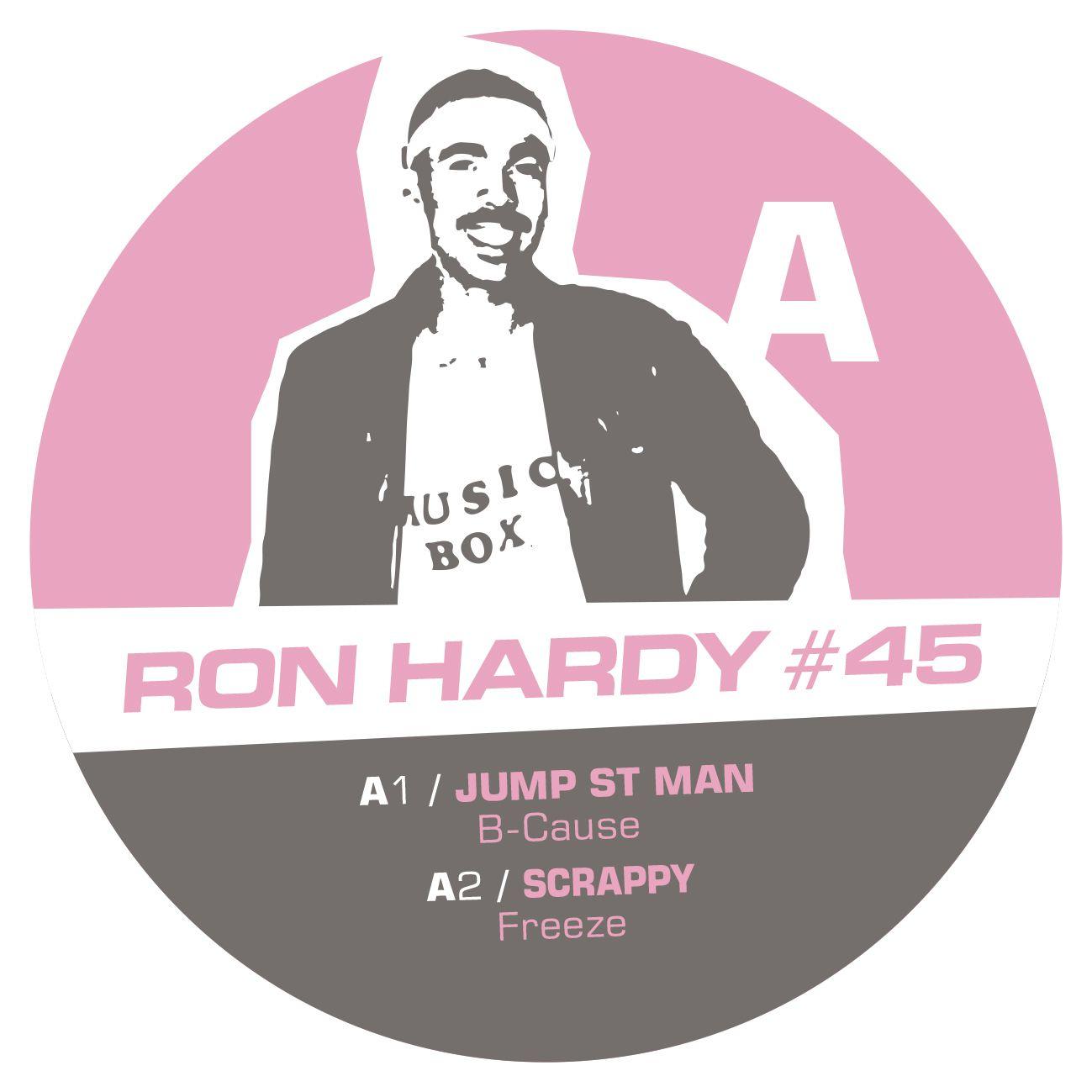 "Ron Hardy/RON HARDY EDITS #45 12"""