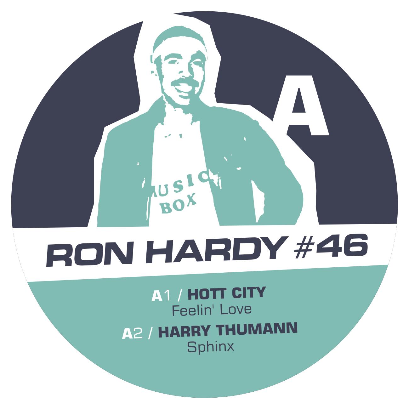 "Ron Hardy/RON HARDY EDITS #46 12"""