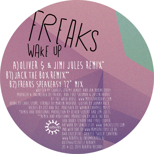 Freaks/WAKE UP REMIXES 12""