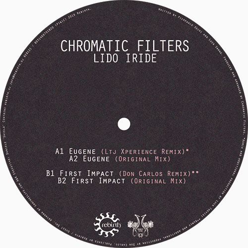 "Chromatic Filters/LIDO IRIDIE EP 12"""