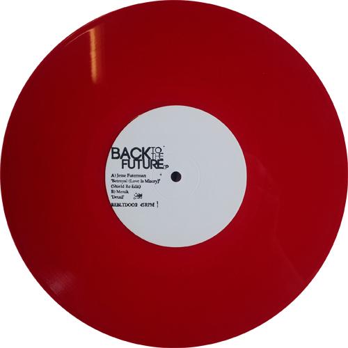 "Jesse Futerman/BETRAYAL (RED VINYL) 10"""