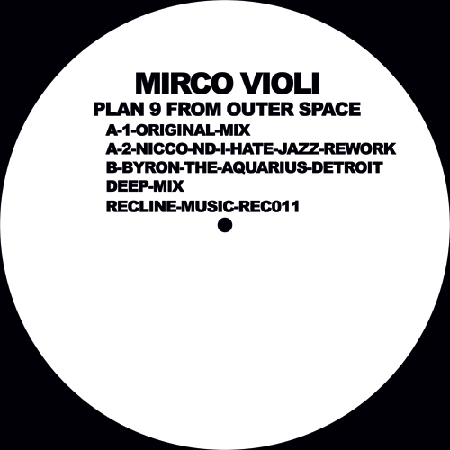 """Mirco Violi/PLAN 9 FROM OUTER SPACE 12"""""""
