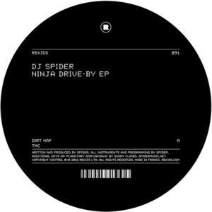 "DJ Spider/NINJA DRIVE-BY EP 12"""