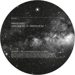 """Mandingo/UNIVERSE II (REMIXES) 12"""""""