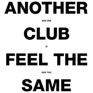 "Radio Slave/ANOTHER CLUB 12"""