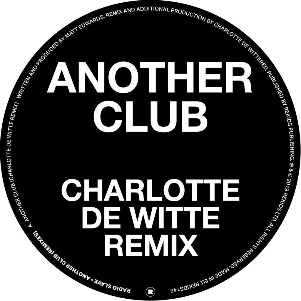 """Radio Slave/ANOTHER CLUB REMIXES 12"""""""