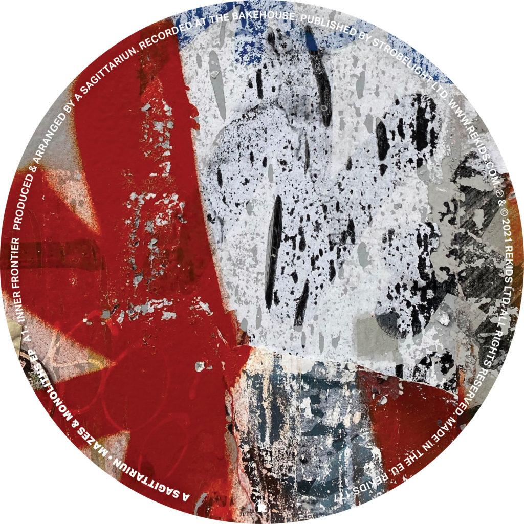 "A Sagitarriun/MAZES & MONOLITHS EP 12"""