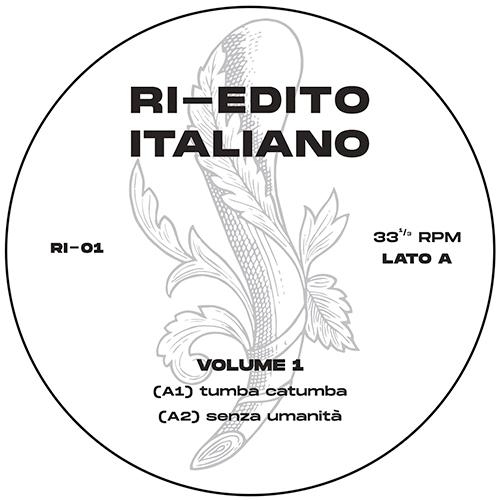 """Ri-Edito Italiano/VOLUME 1 12"""""""