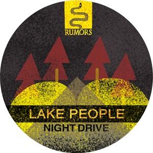 "Lake People/NIGHT DRIVE 12"""