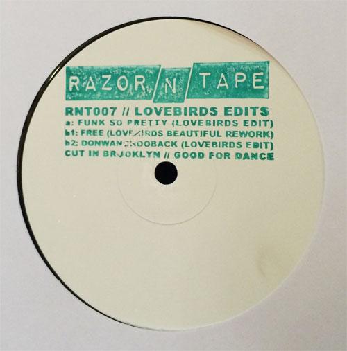 "Lovebirds/RAZOR-N-TAPE EDITS 12"""