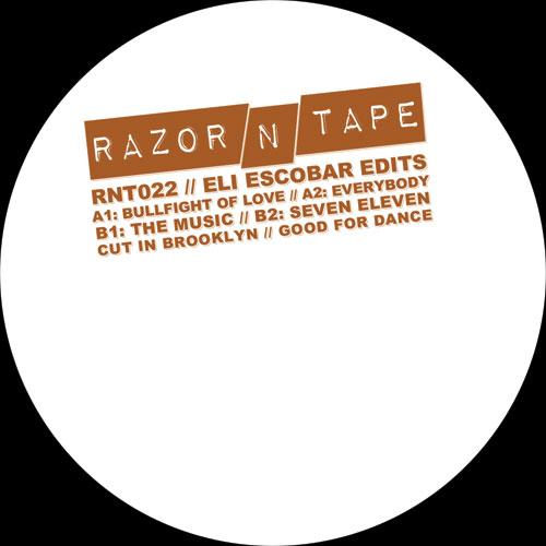 "Eli Escobar/RAZOR-N-TAPE EDITS 12"""