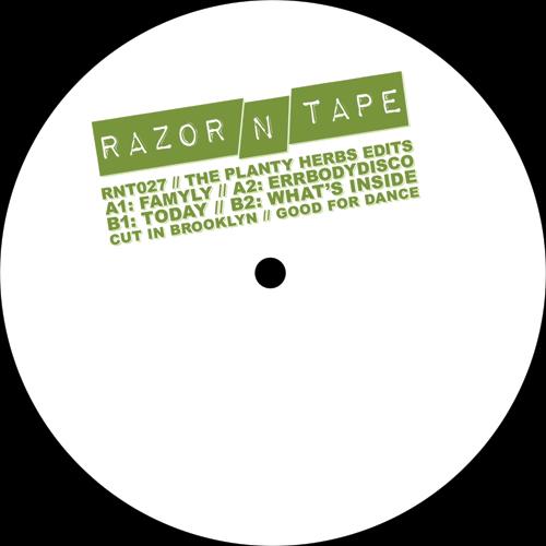 "Planty Herbs/RAZOR-N-TAPE EDITS 12"""