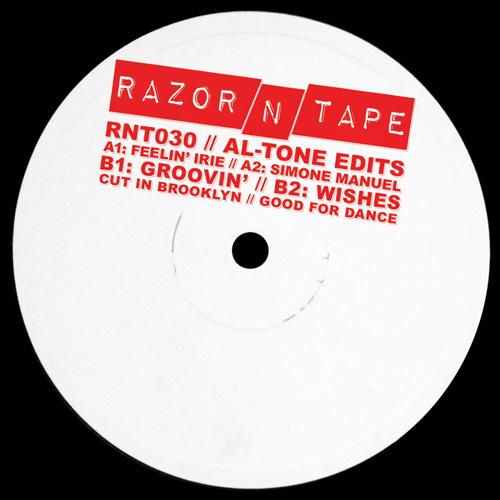 "Al-Tone/RAZOR-N-TAPE EDITS 12"""