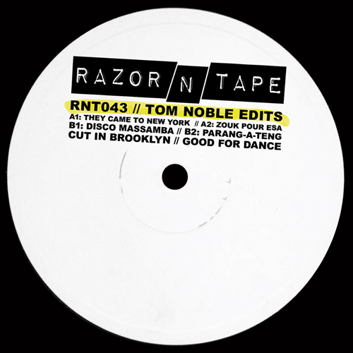 Tom Noble/RAZOR-N-TAPE EDITS 12""