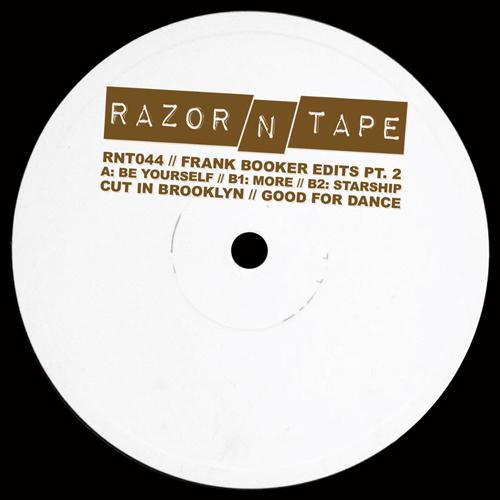 "Frank Booker/RAZOR-N-TAPE EDITS PT 2 12"""
