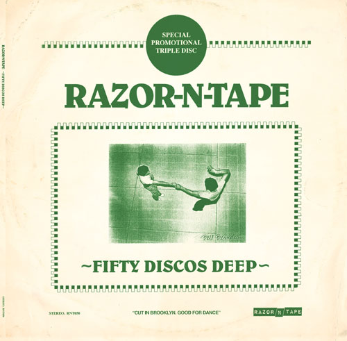 Various/RAZOR-N-TAPE: 50 DISCOS DEEP 3LP