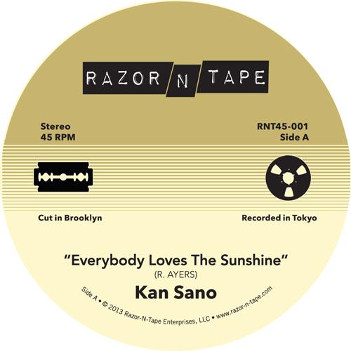 "Kan Sano/EVERYBODY LOVES THE SUNSHINE 7"""