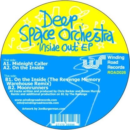 Deep Space Orchestra/INSIDE OUT EP 12""