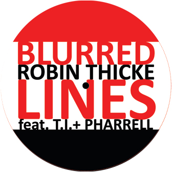 """Robin Thicke/BLURRED LINES REMIXES 12"""""""