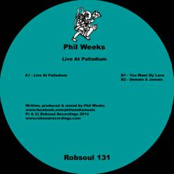 Phil Weeks/LIVE AT PALLADIUM 12""