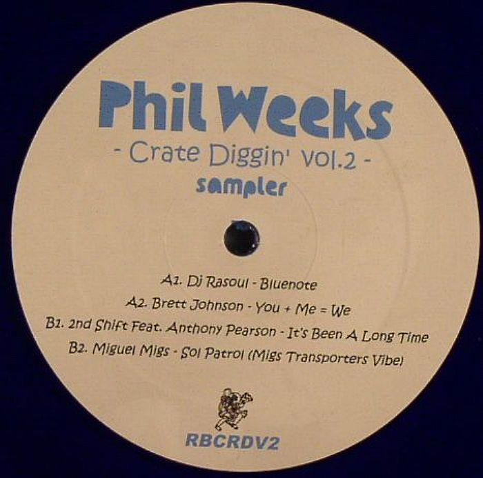 """Various/ROBSOUL CRATE DIGGIN' VOL 2 12"""""""