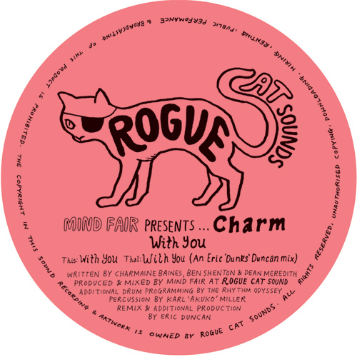 """Mind Fair Presents Charm/WITH YOU 12"""""""