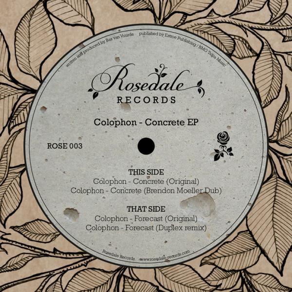 "Colophon/CONCRETE EP 12"""