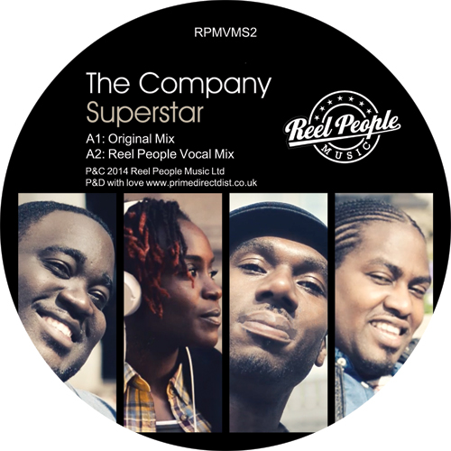 """Company/SUPERSTAR (REEL PEOPLE MIX) 12"""""""