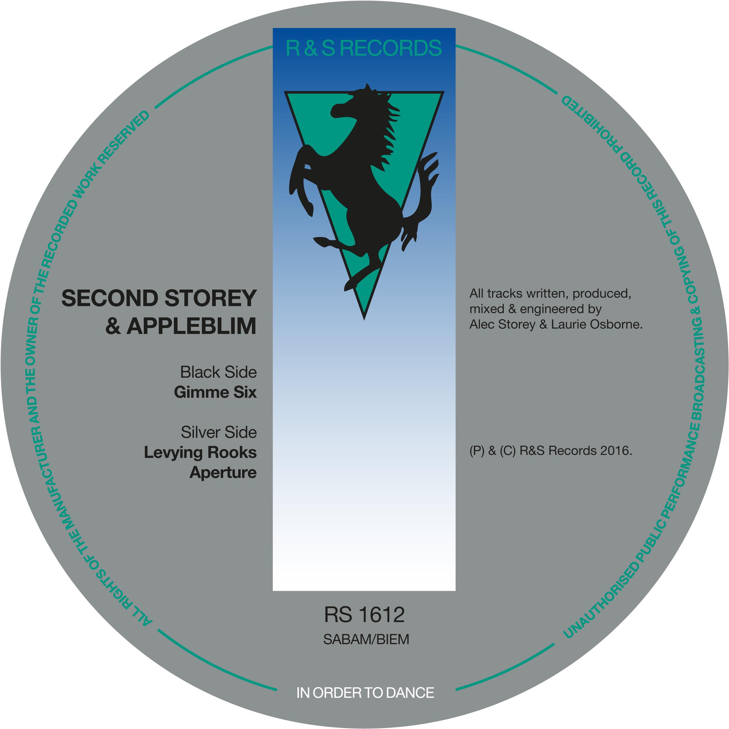 """Second Storey & Appleblim/GIMME SIX 12"""""""
